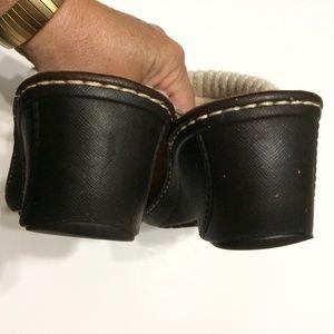 UGG Shoes - UGG Brown Gael Wedge Clogs